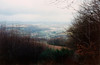The Glan River Valley as viewed from Remigiusberg - (November 29, 1987 / from Remigiusberg, Rheinland-Pfalz, West Germany) -- Glan River Valley, Gimsbach, & other villages