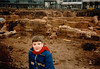 Jonathon at Roman ruins, Trier, Germany - (January 9, 1988 / Trier, Rheinland-Pfalz, West Germany) -- Jonathon