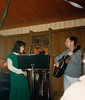 Jan & Paul Vuchetich performing  at Detachment 1, 23rd Air Force party - (March 18, 1988 / #3 Obere Hohl, Gimsbach, Rheinland-Pfalz, West Germany) -- Jan & Paul Vuchetich