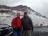 June 8, 2014 - (Mount Evans [summit parking lot] / Idaho Springs, Clear Creek County, Colorado) -- MaryAnne & David
