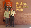 June 10, 2014 - (Arches National Park [Visitor Center] / Moab, Grand County, Utah) -- MaryAnne & David