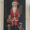MaryAnne purchased a Bavarian Painted Santa Claus - (September 15, 1988 / Ramstein Airbase, Rheinland-Pfalz, West Germany) -- MaryAnne's Birthday Gift