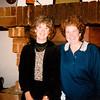 MaryAnne with La Leche League guest Kitty Franz at Potzberg Turm Restaurant - (October 27, 1988 / Potzberg, Föckelberg, Rheinland-Pfalz, West Germany) -- MaryAnne and Kitty Franz