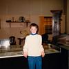 Jonathon and classmate inside the Gutenberg Museum - (December 6, 1988 / Mainz, Rheinland-Pfalz, West Germany) -- Jonathon