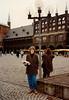 MaryAnne with bakery goods near Lübeck (February 13, 1990 / Lübeck, Schleswig-Holstein, West Germany) -- MaryAnne
