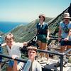 Andrew, Jonathon, Michael, MaryAnne, and David - (August 23, 1986 / Diamond Head State Monument,  Honolulu, Oahu, Hawaii) -- Andrew, Jonathon, Michael, MaryAnne, and David