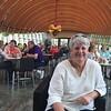 "July 15, 2015 - (Crystal Bridges Museum / Bentonville, Benton County, Arkansas) -- MaryAnne lunching in ""Eleven"" Restaurant"
