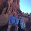 September 26, 2015 - (Garden of the Gods Nature Area] / Colorado Springs, El Paso County, Colorado) -- David and MaryAnne with Geologic Rock Formations
