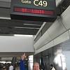 October 3, 2015 - (Denver International Airport [Southwest Airlines Departure Lounge] / Denver, DenverCounty, Colorado) -- David