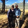 September 27, 2015 - (Rocky Mountain National Park [Bowen-Baker Trailhead parking lot] / Grand County, Colorado) -- MaryAnne and David